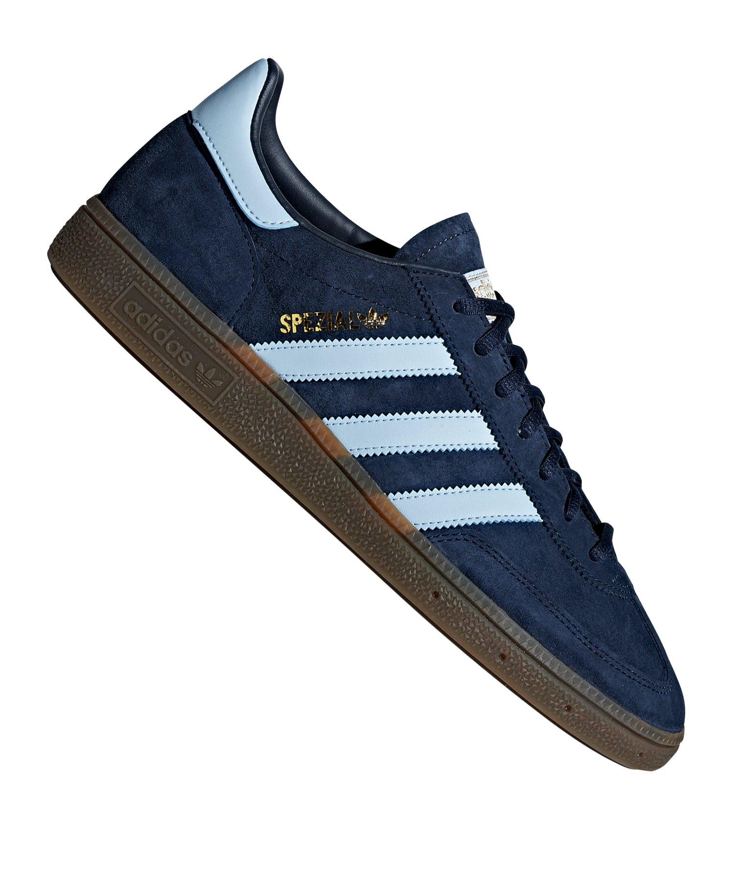 adidas Spezial Herren Handball Sportschuhe Sneaker Blau