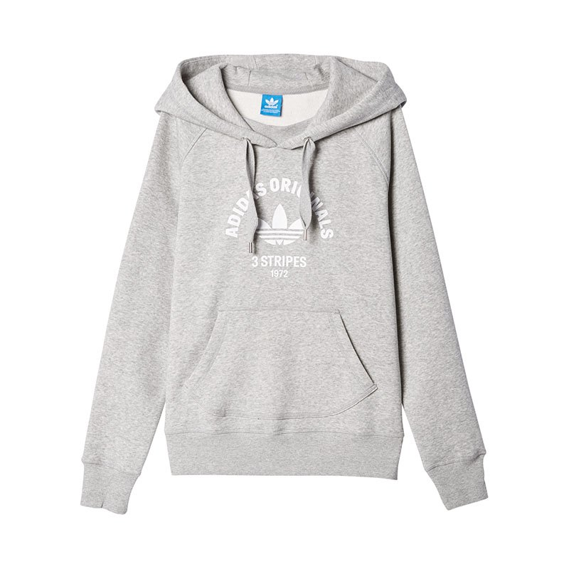 adidas originals hoody damen grau kapuzensweatshirt. Black Bedroom Furniture Sets. Home Design Ideas