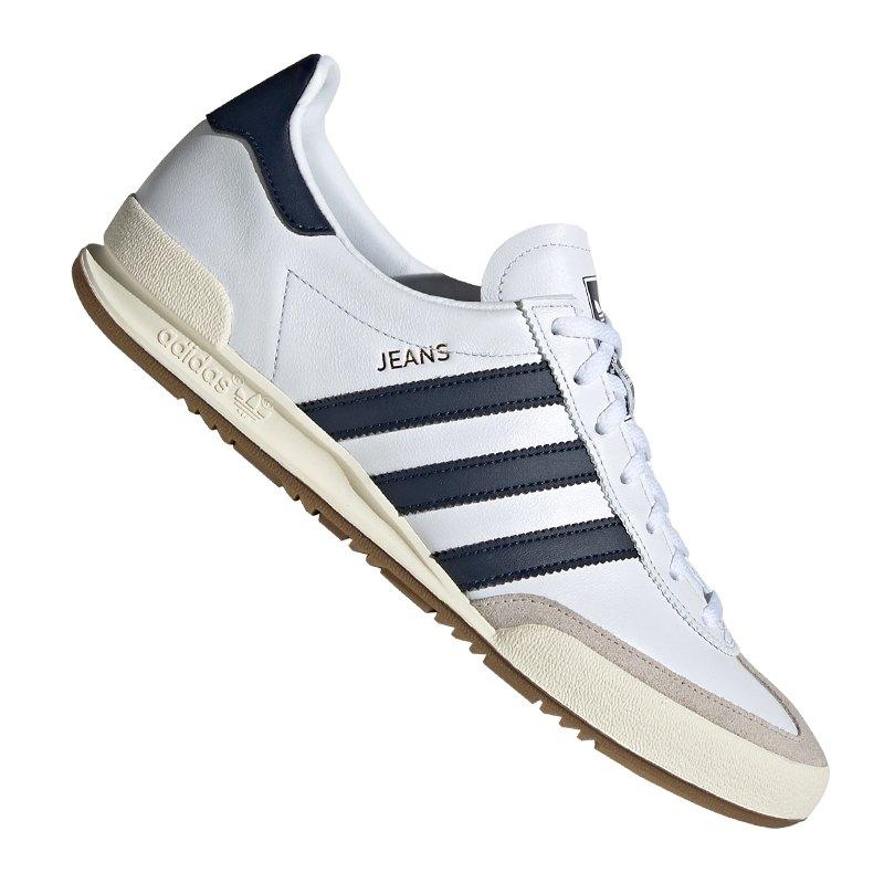adidas Jeans Schuhe weiß blau