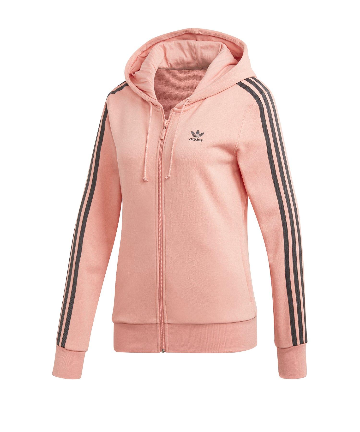 hochwertige Materialien das billigste Trennschuhe adidas Originals Kapuzenjacke Damen Rosa