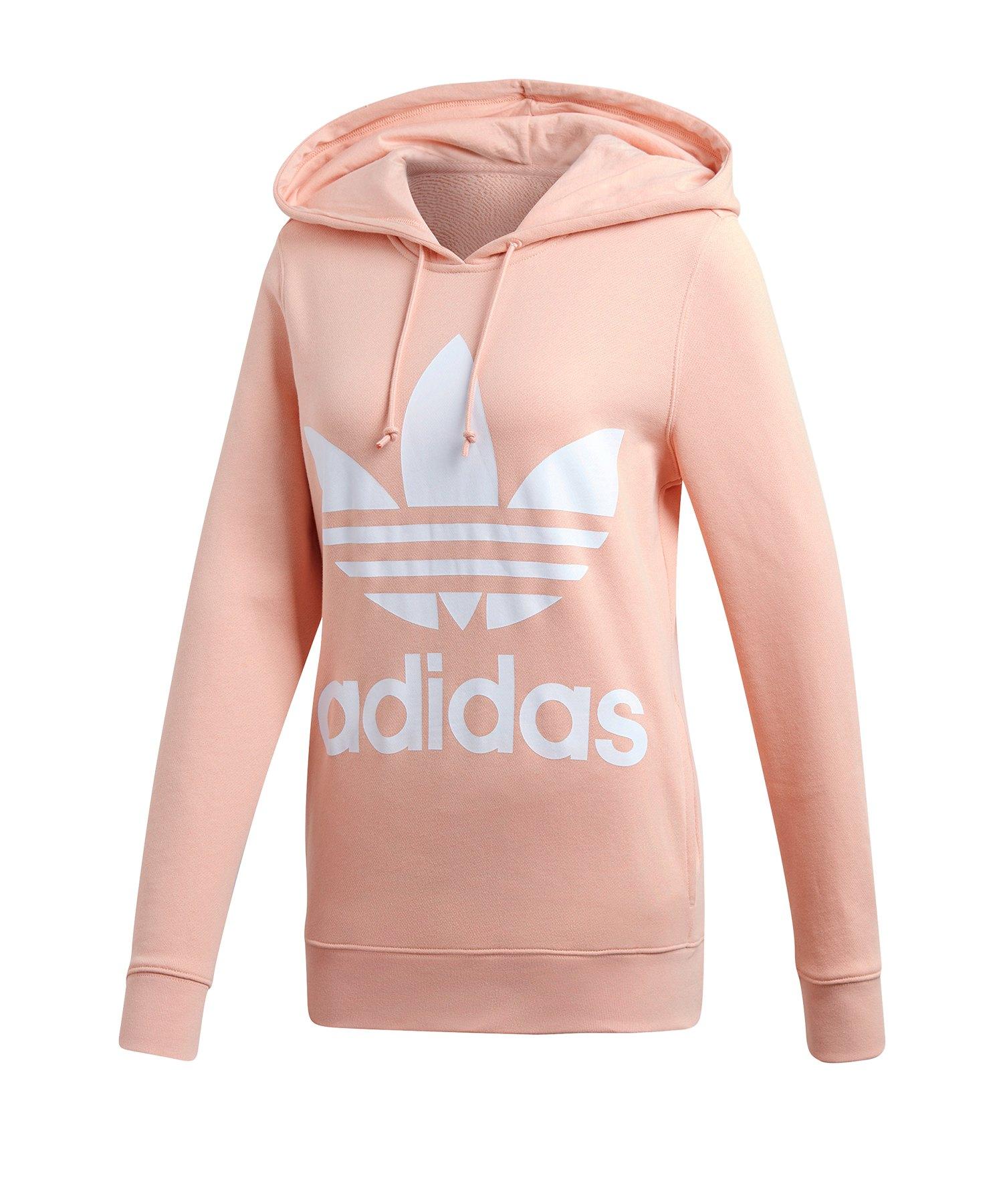 um 50 Prozent reduziert suche nach echtem Online kaufen adidas Originals Kapuzensweatshirt Damen Rosa