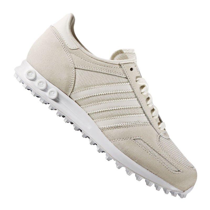 adidas originals la trainer sneaker damen beige schuh. Black Bedroom Furniture Sets. Home Design Ideas