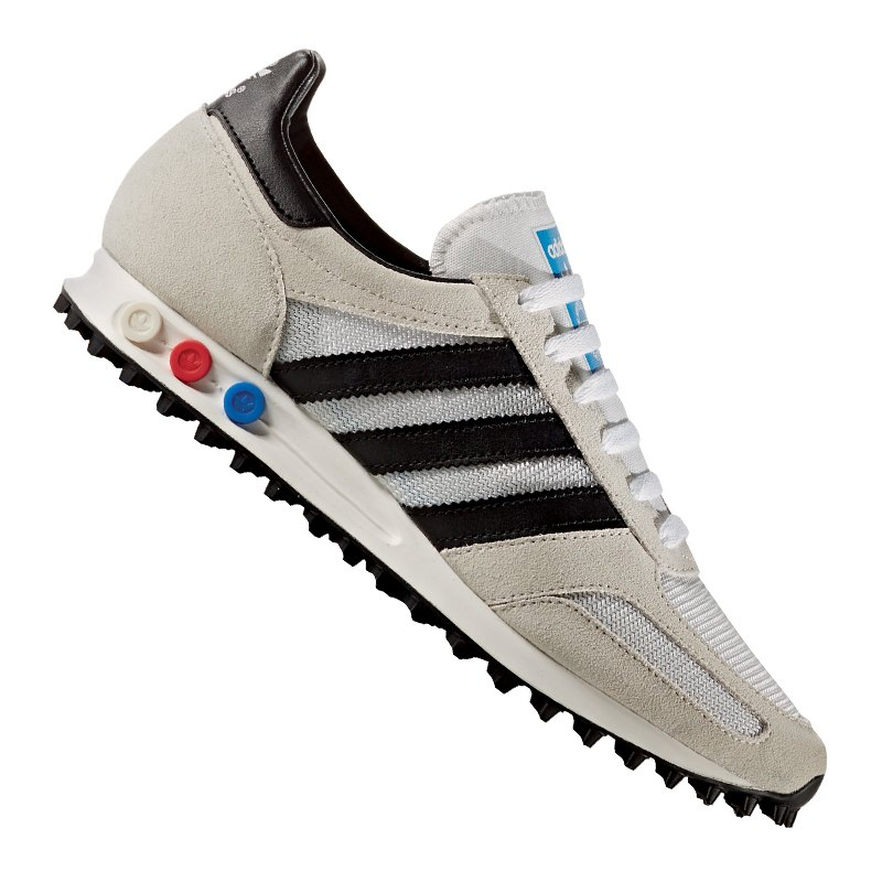 adidas originals la trainer sneaker grau schwarz m nner. Black Bedroom Furniture Sets. Home Design Ideas