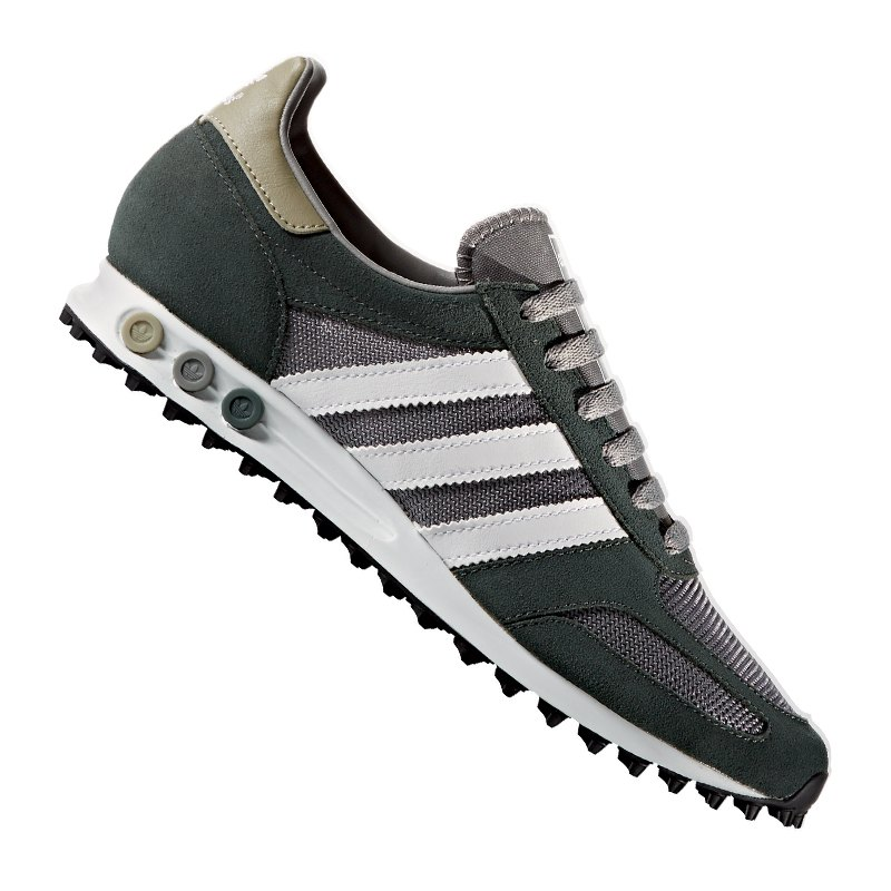 adidas originals la trainer sneaker grau weiss m nner. Black Bedroom Furniture Sets. Home Design Ideas