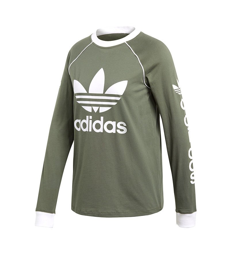 adidas Originals Longsleeve Sweater Grün