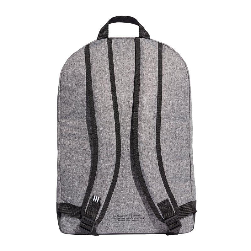 Rucksack von adidas Originals Außenmaterial im Leder Look in