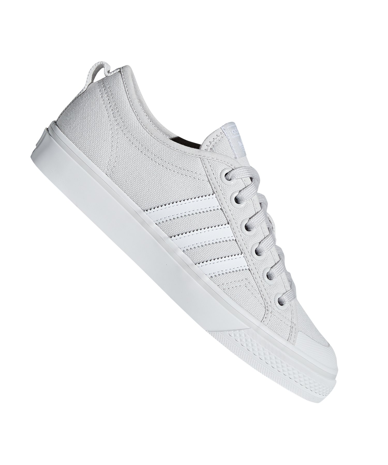 adidas Originals Nizza Sneaker Damen Grau Weiss