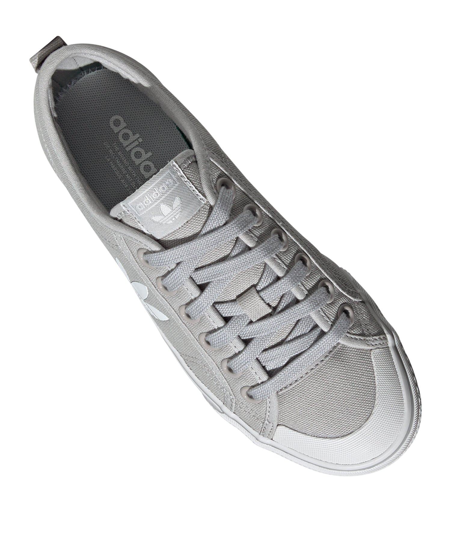 adidas Originals Nizza Trefoil Sneaker Damen Grau