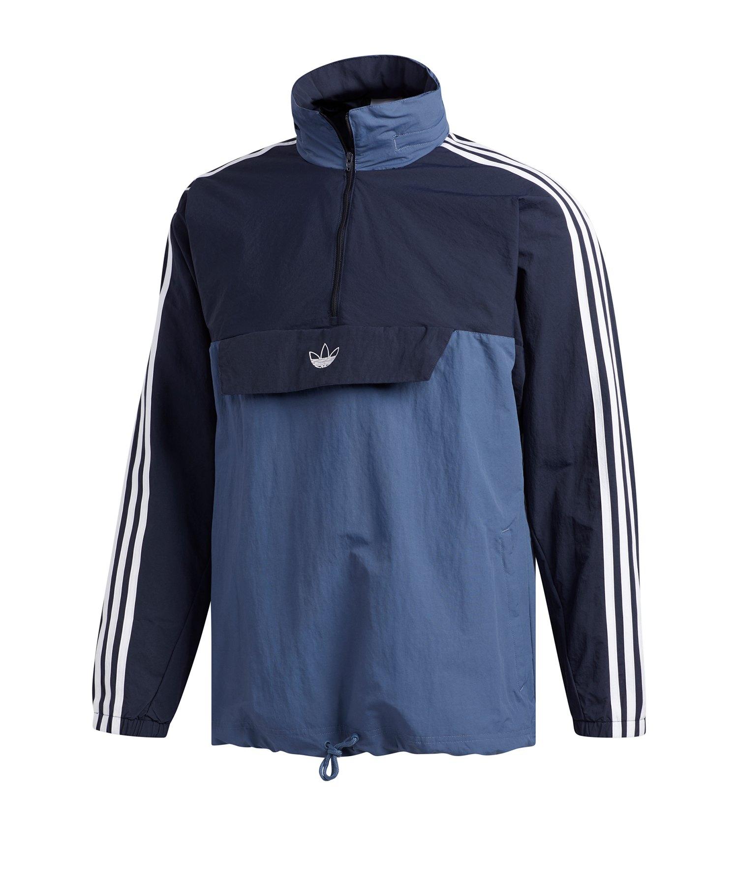 adidas Originals Outline 12 Zip Jacke Blau