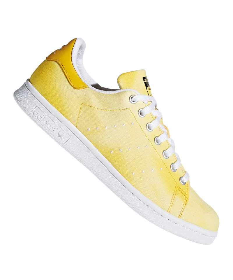 adidas Originals Stan Smith Sneaker Weiss Gelb