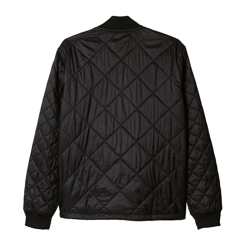 adidas originals quilted sst jacket jacke schwarz bomber. Black Bedroom Furniture Sets. Home Design Ideas