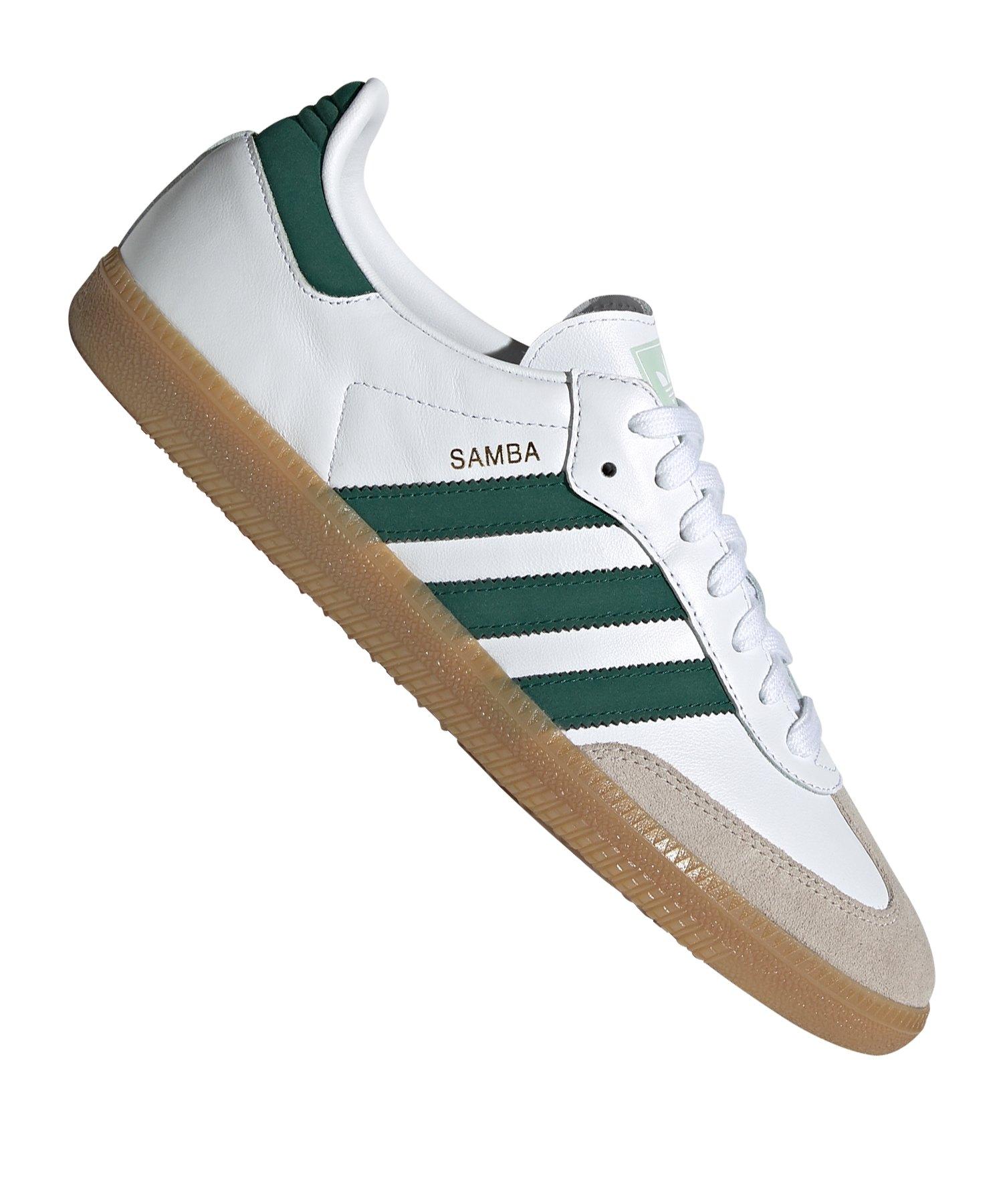 adidas Originals Samba OG Sneaker Weiss Grün