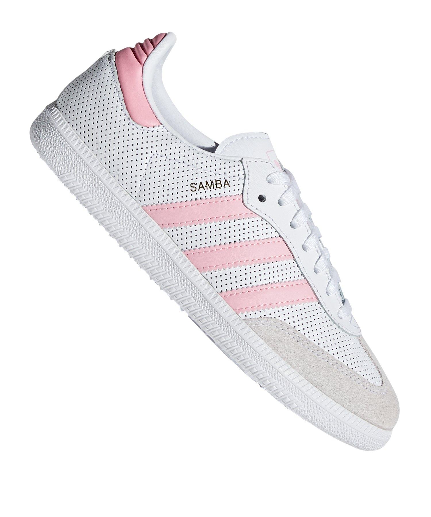 Originals Pink Weiss Adidas Sneaker Kids Samba IbgYvmf76y