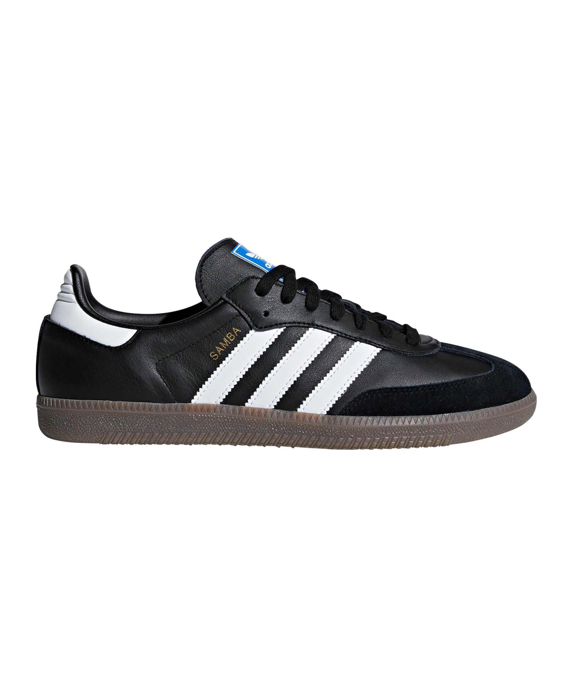 Details about adidas Originals Samba Sneaker schwarzweiß