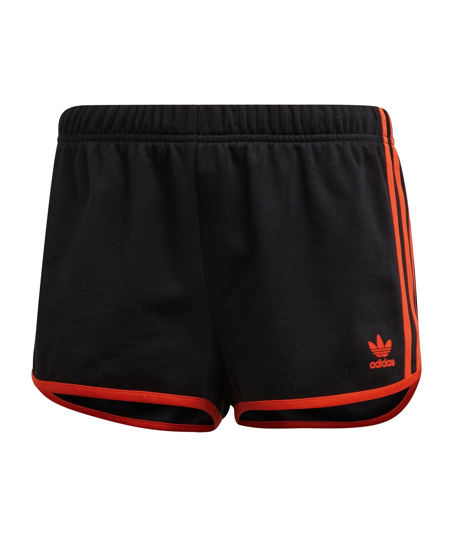 adidas Originals Short Hose kurz Damen Schwarz