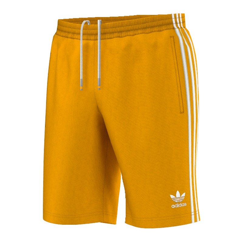 adidas originals sst short hose kurz gold weiss. Black Bedroom Furniture Sets. Home Design Ideas