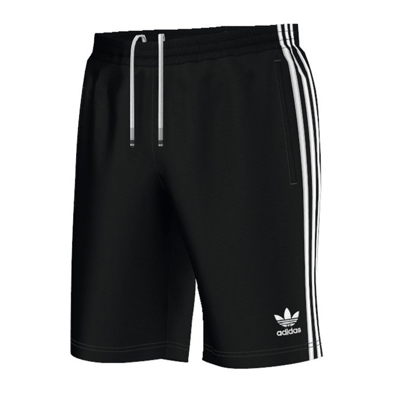 adidas originals sst short hose kurz schwarz weiss schwarz. Black Bedroom Furniture Sets. Home Design Ideas