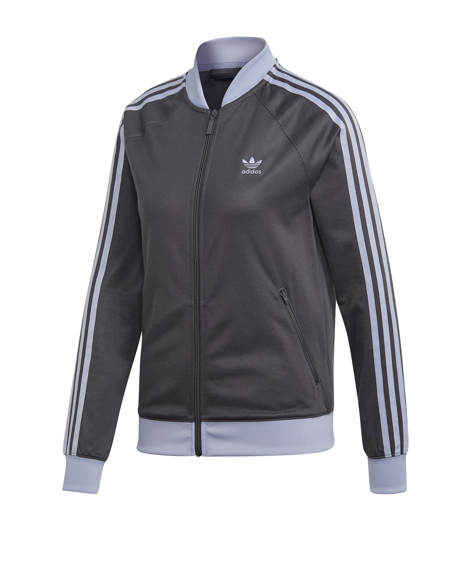 adidas Originals SST Track Top Jacke Damen Grau