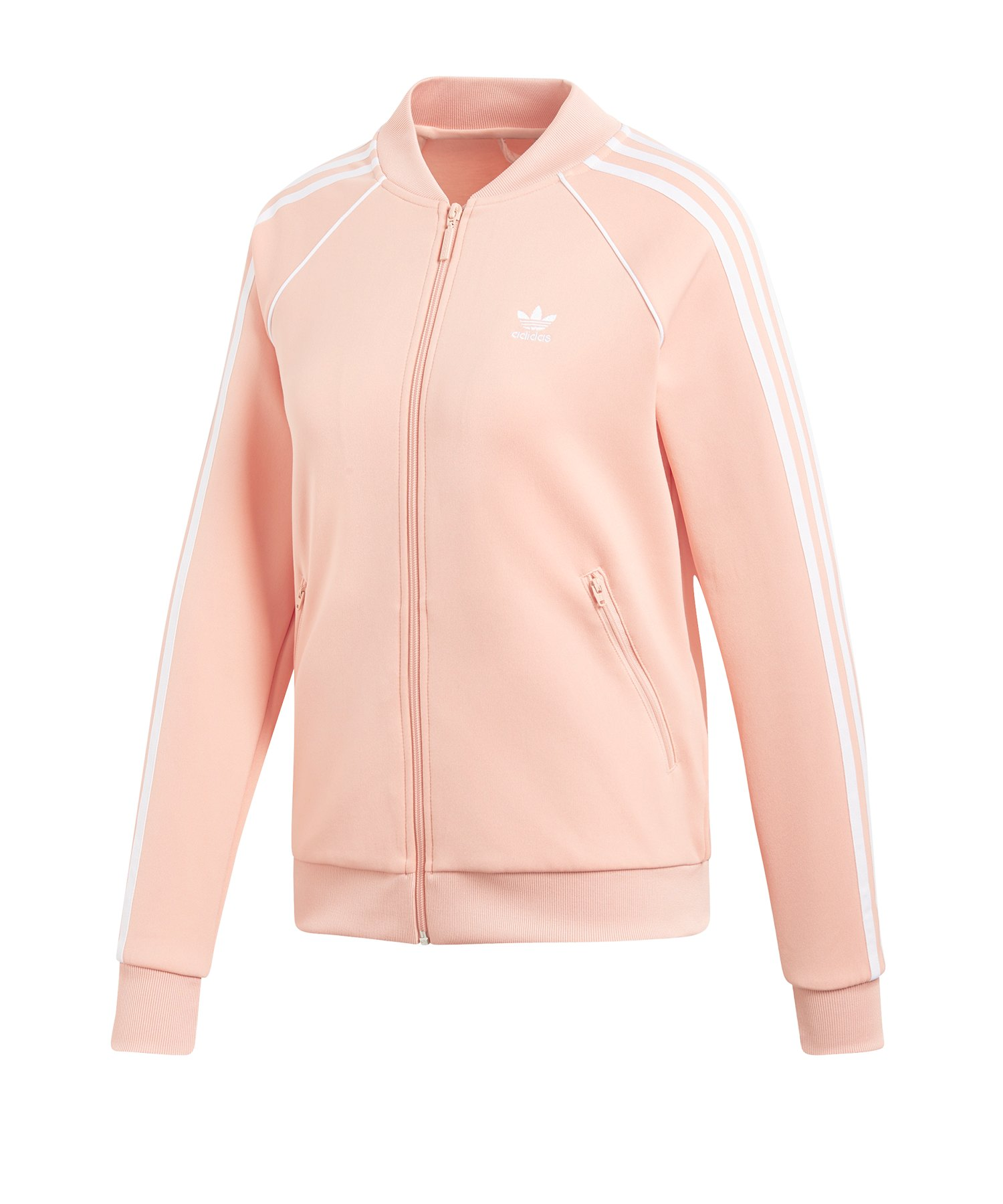 adidas Originals SST Track Top Jacke Damen Rosa