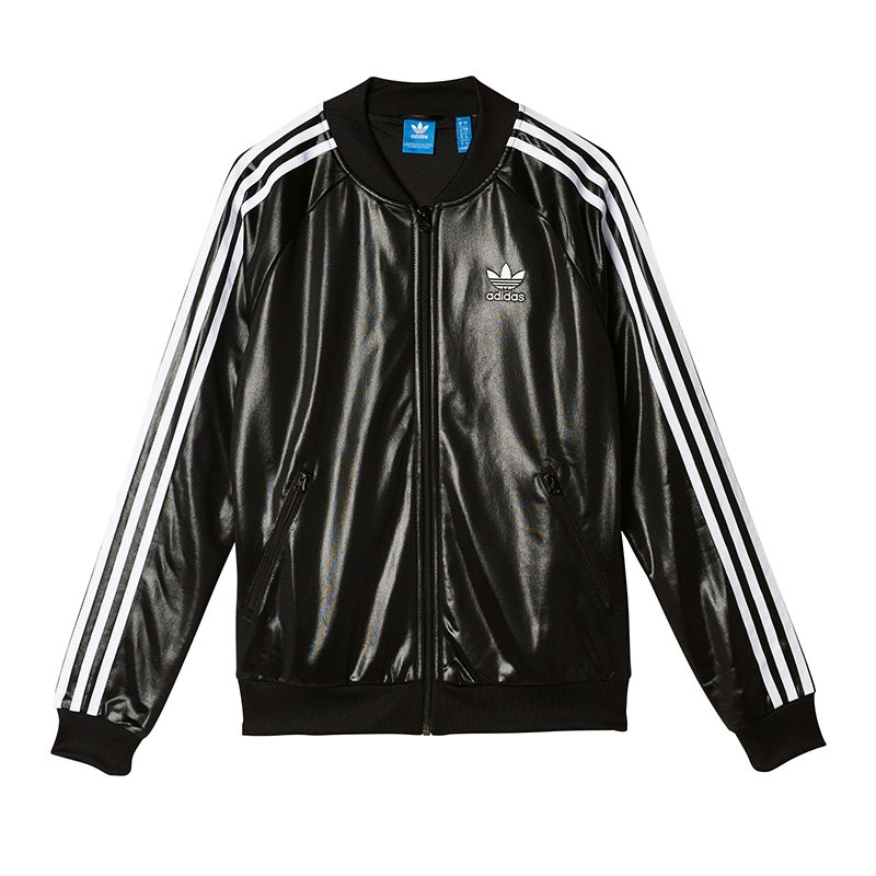 adidas originals sst track top jacke damen schwarz. Black Bedroom Furniture Sets. Home Design Ideas