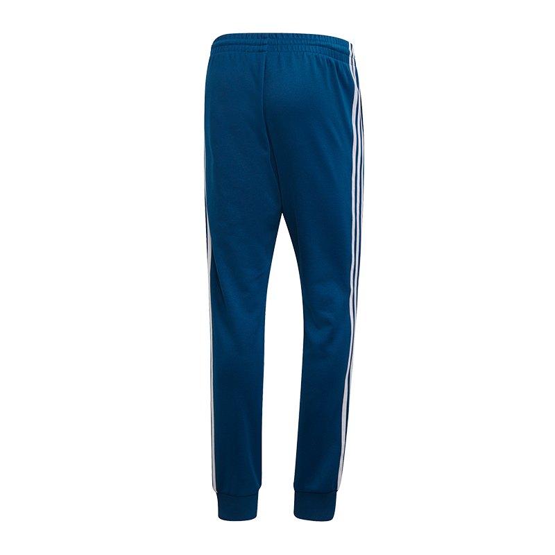 acf41f2aea6359 ... adidas Originals SST Trackpant Blau - blau ...