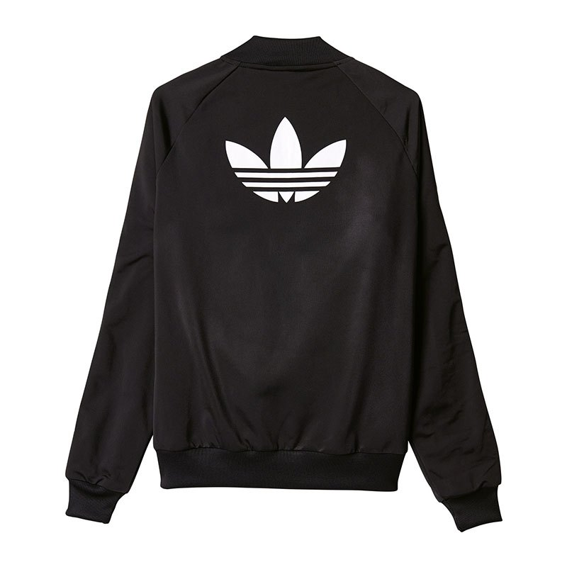 adidas originals sst tt jacke damen schwarz weiss women. Black Bedroom Furniture Sets. Home Design Ideas