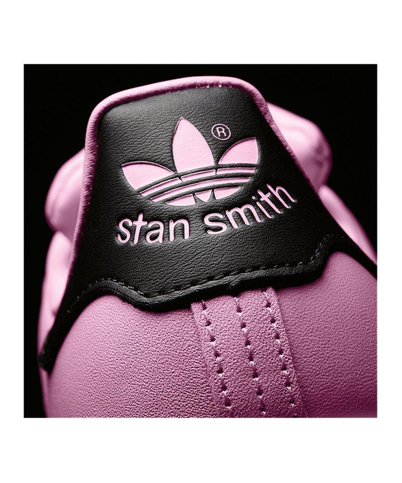 adidas originals stan smith damen pink schwarz lifestyle. Black Bedroom Furniture Sets. Home Design Ideas