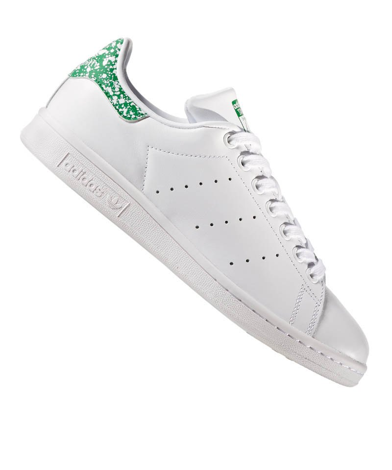 new arrival 0e8bb 7dafe adidas Originals Stan Smith Damen Weiss Grün