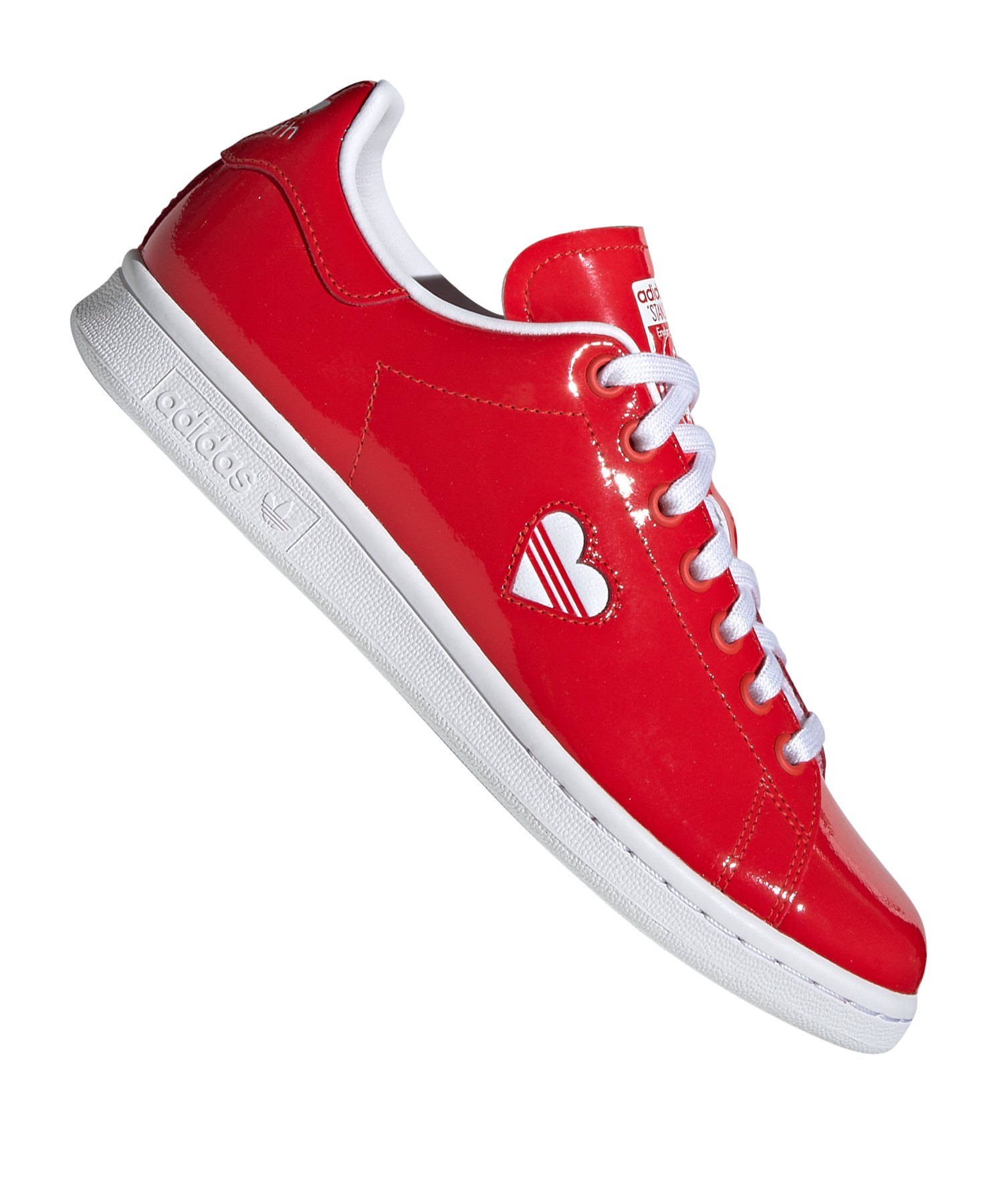 reputable site e513f 683a0 adidas Originals Stan Smith Sneaker Damen Rot