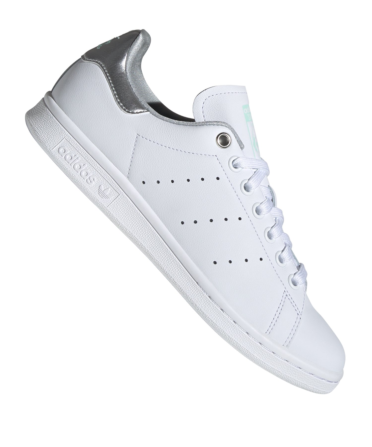 adidas Originals Stan Smith Sneaker Damen Weiss Silber