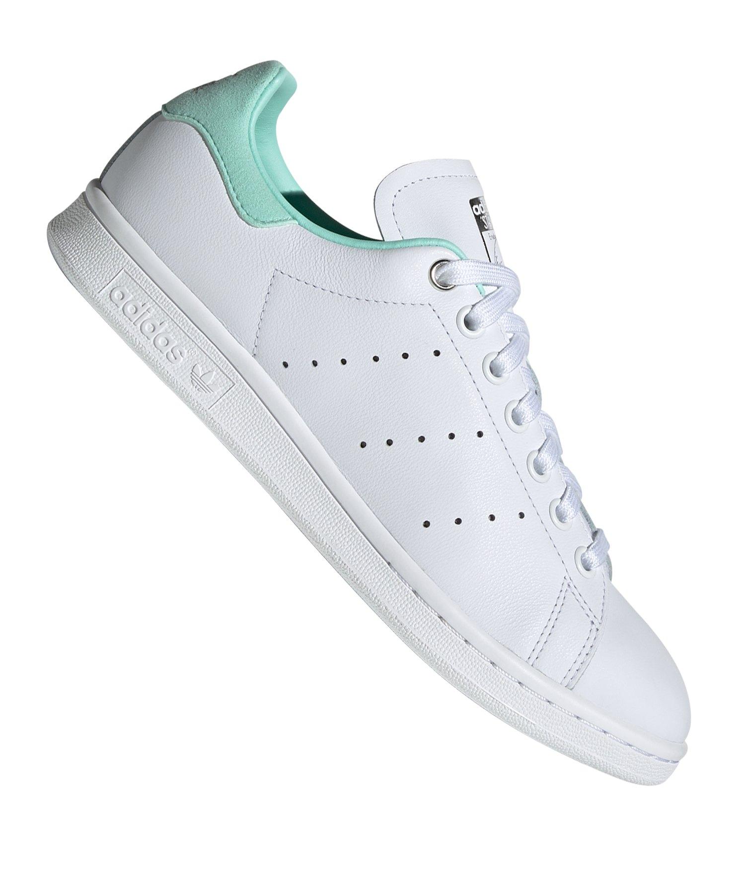 Damen Adidas Stan Smith Weiß Rot , Adidas Herrenschuhe