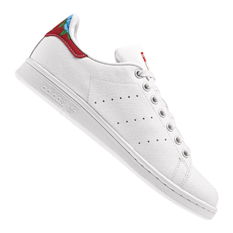 adidas originals stan smith damen weiss rot. Black Bedroom Furniture Sets. Home Design Ideas