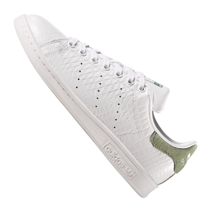 adidas originals stan smith sneaker weiss khaki sneaker. Black Bedroom Furniture Sets. Home Design Ideas