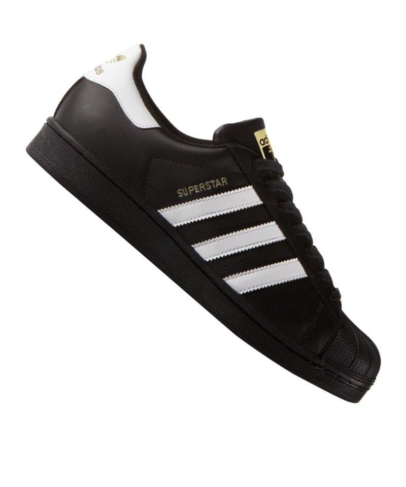 adidas Originals Superstar Sneaker für Herren Schwarz
