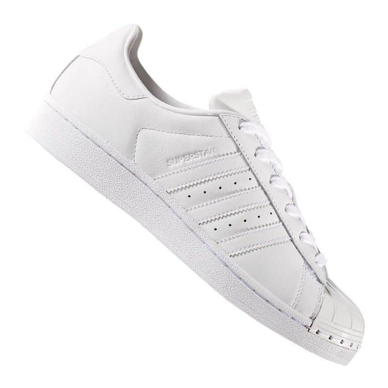 adidas Originals Superstar Metall Toe Damen Weiss