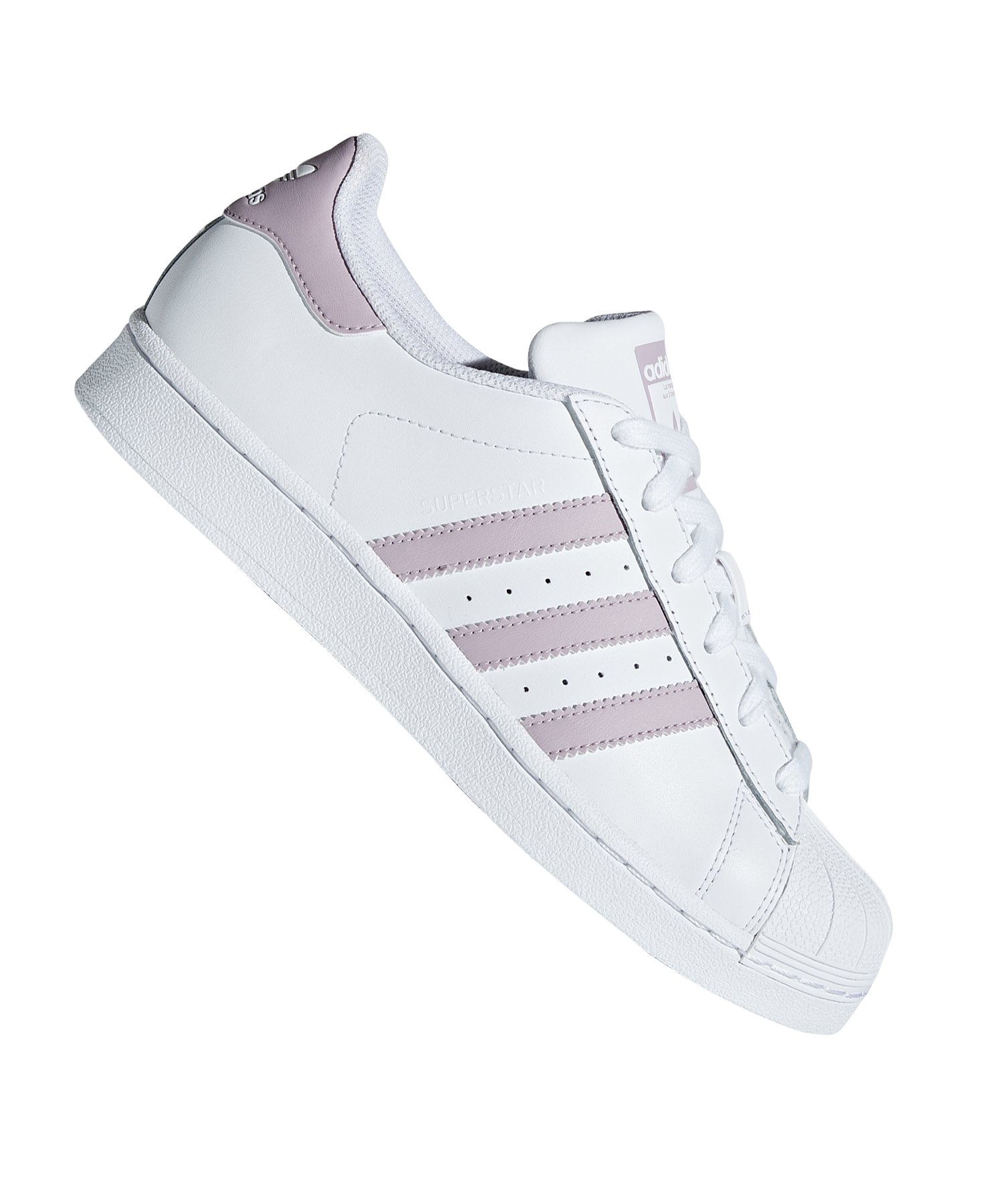 c222c6fb8691ba adidas Originals Superstar Sneaker Damen Weiss - weiss
