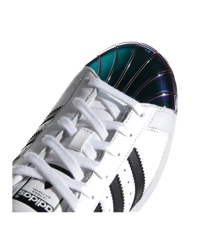 adidas originals superstars sneaker damen weiss