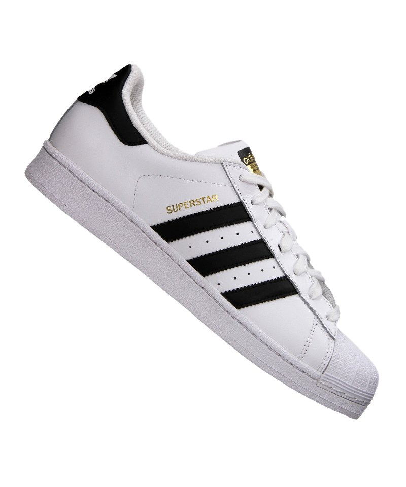 adidas originals superstar sneaker weiss schwarz. Black Bedroom Furniture Sets. Home Design Ideas