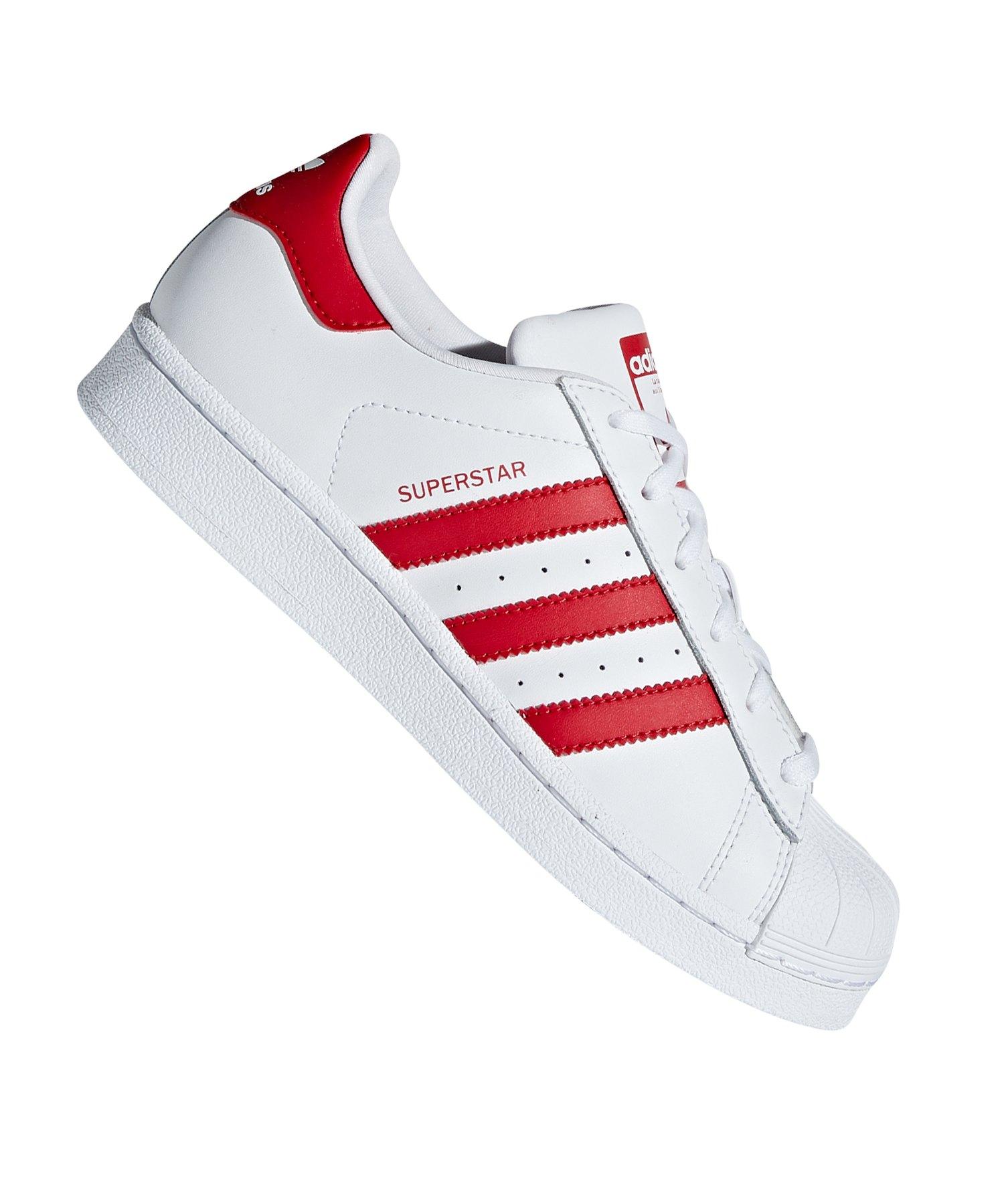 Superstar Adidas Kids Originals lifestyle Weiss Sneaker Blau R7vzq7