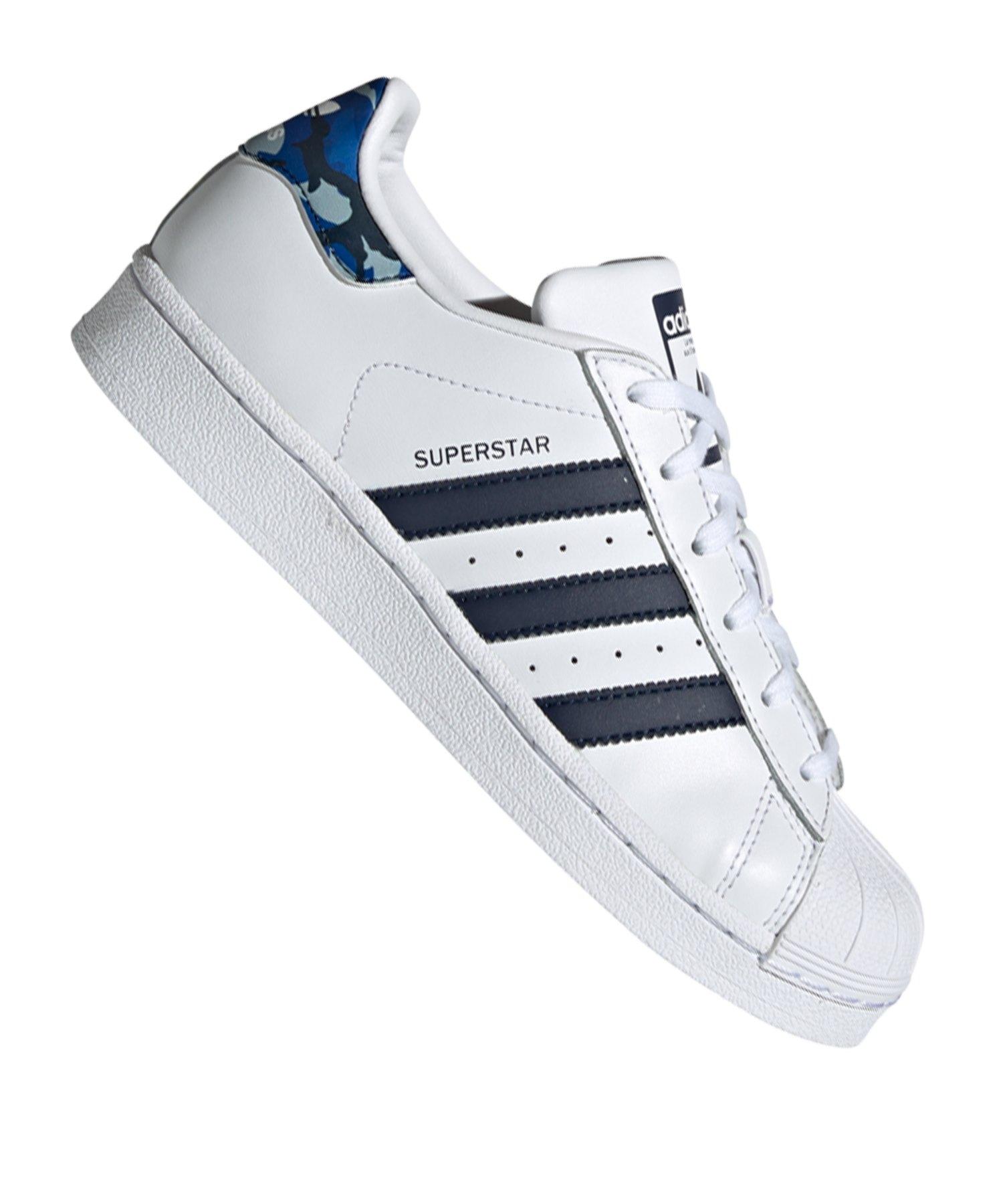 adidas Originals Superstar Sneaker Kids Weiss