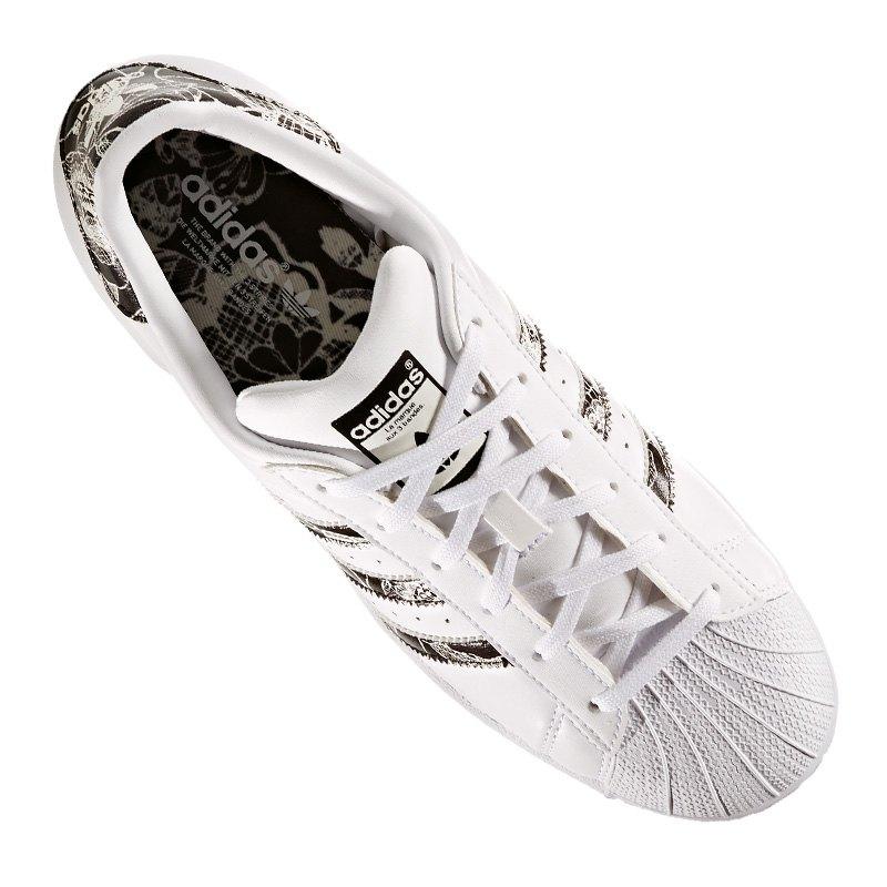adidas originals superstars sneaker damen weiss. Black Bedroom Furniture Sets. Home Design Ideas