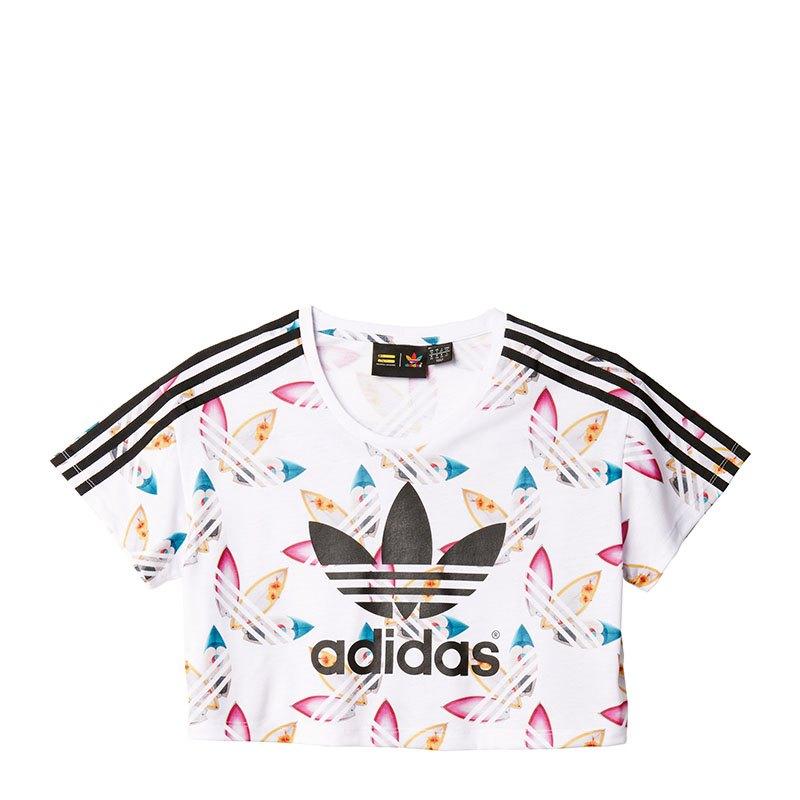 adidas t-shirt bauchfrei damen