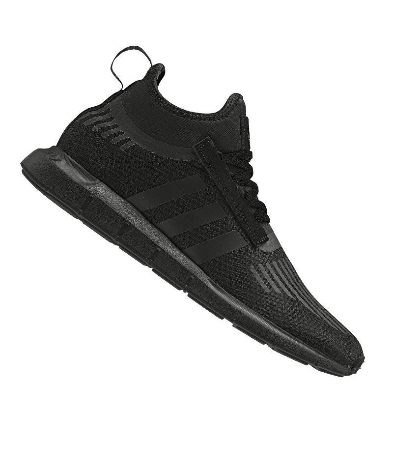 adidas swiftrun sneaker herren schwarz
