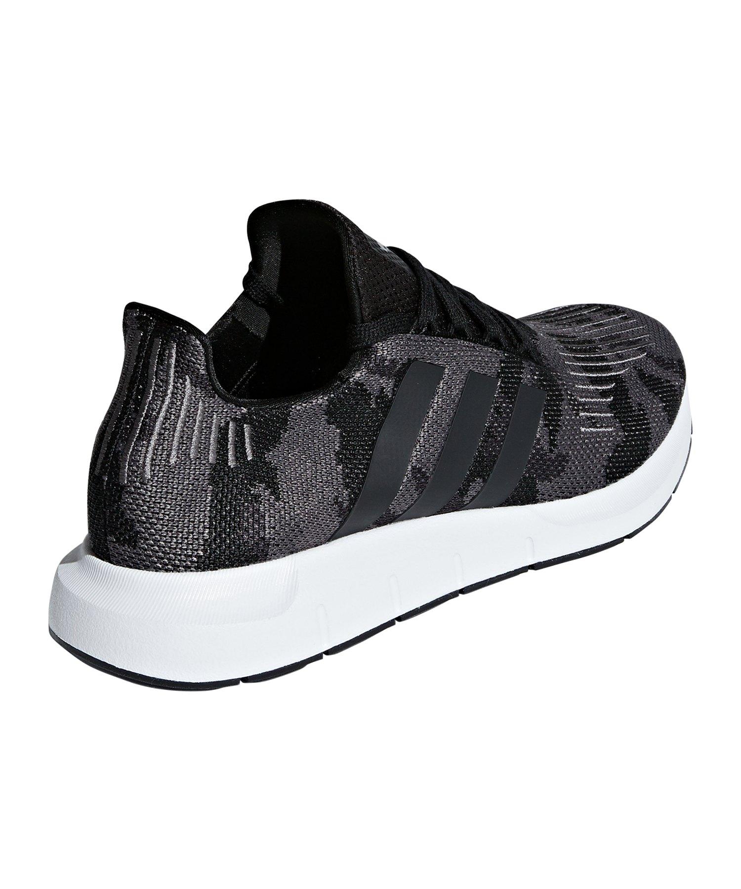 9d7b5b2cd1d23 adidas Originals Swift Run Sneaker Grau Schwarz