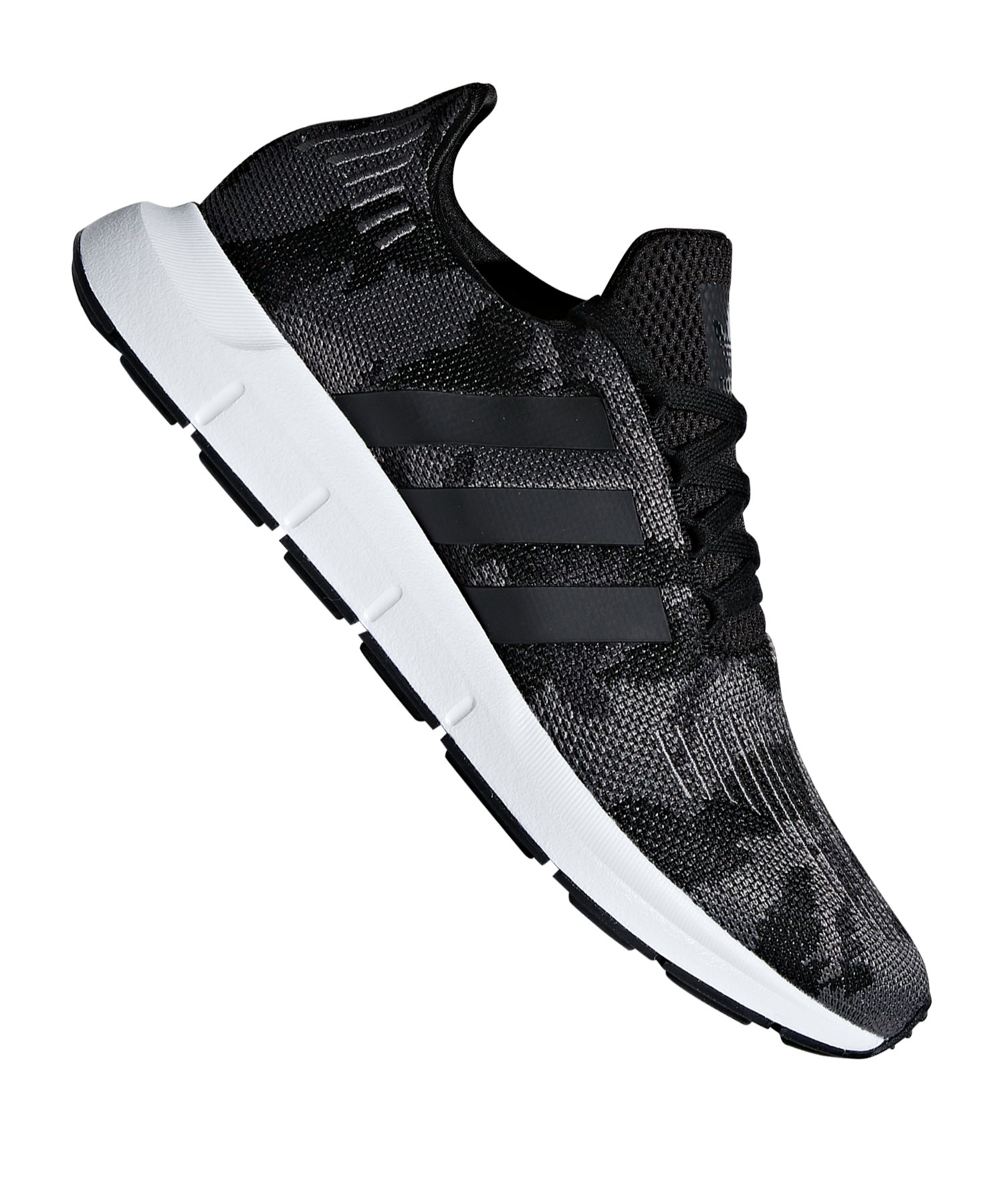 adidas Originals Swift Run Sneaker Grau Schwarz