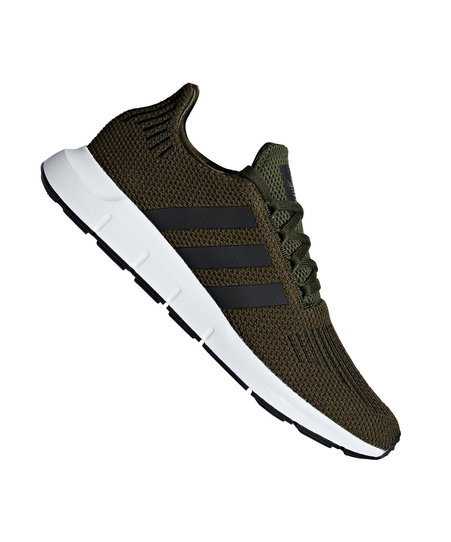 7f15d67cb9f0c4 adidas Originals Swift Run Sneaker Grün Schwarz - gruen