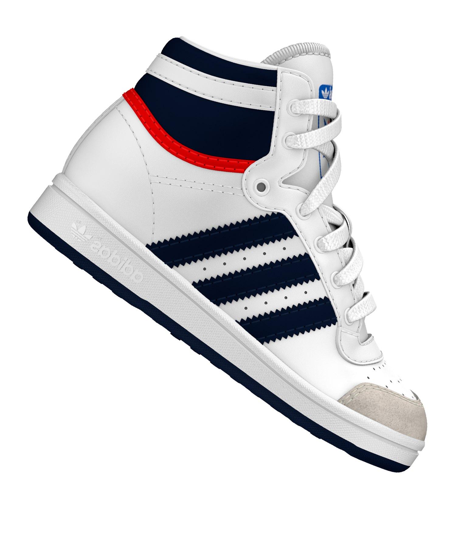 adidas Originals Superstar Sneaker Weiß Schuhe, Grö | real