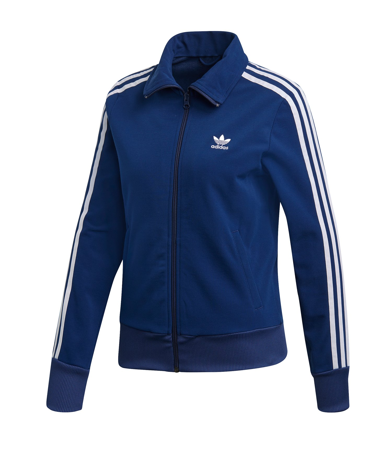 best service bed9a 07093 adidas Originals Track Top Jacke Damen Dunkelblau