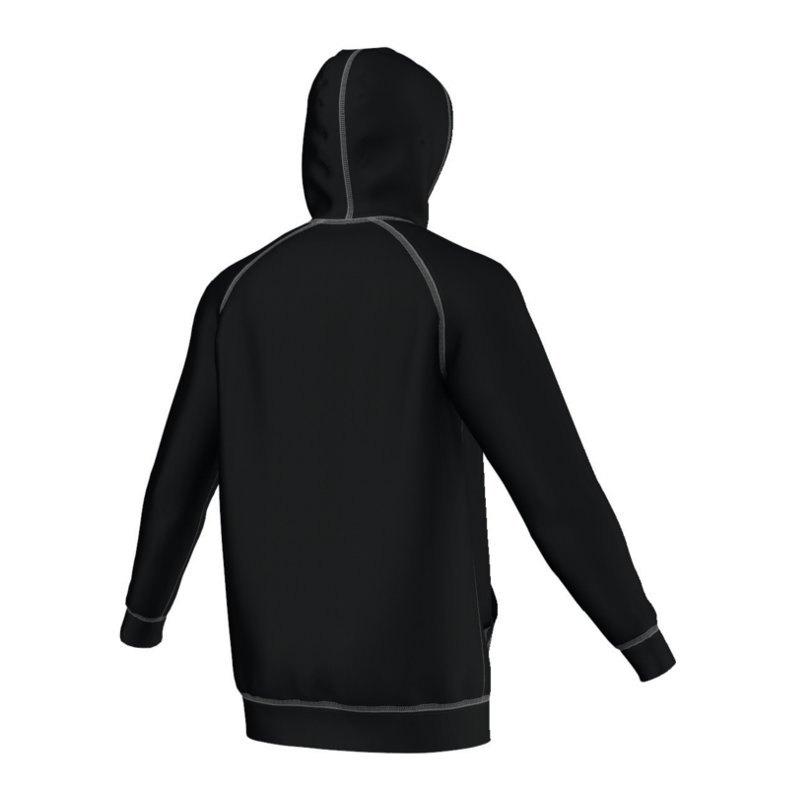 adidas originals trefoil hoody schwarz weiss kapuzensweatshirt lifestyle freizeit pullover. Black Bedroom Furniture Sets. Home Design Ideas