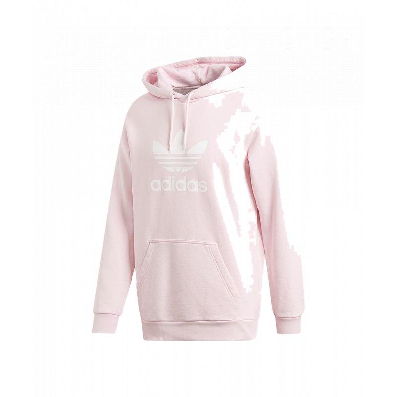 adidas Originals Trefoil Kapuzenpullover für Damen Pink